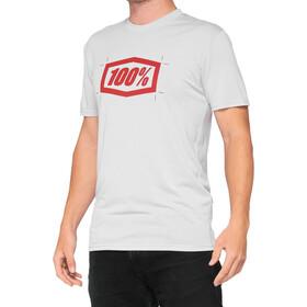 100% Cropped Tech Tee Men, szary